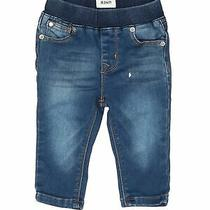 Hudson Baby Girls Blue Jeans 9 Months Photo