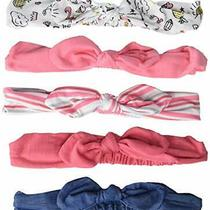 Hudson Baby Unisex Cotton and Synthetic Headbands Doodle 0-24 Months Photo