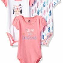 Hudson Baby Unisex Cotton Bodysuits Boho Owl 18-24 Months Photo