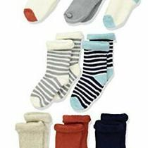 Hudson Baby Unisex Cotton Rich Newborn and Terry Socks Boy Fox 0-6 Months Photo