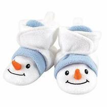 Hudson Baby Unisex Cozy Fleece Booties Snowman 6-12 Months Photo