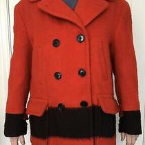 Hudson Bay Blanket Coat - L.l. Bean Size 44   - Acs (He566) Photo