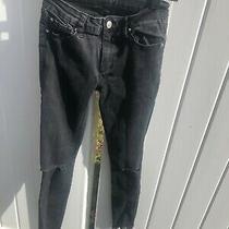 Hudson Black Girls Jeans Ripped Size 14 5 Pocket Photo