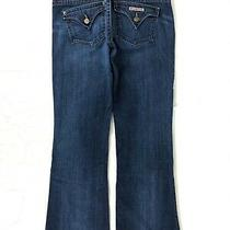 Hudson Bootcut Jeans Women's 28 Stretch Flap Pockets Photo