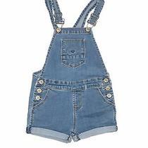 Hudson Boys Blue Overall Shorts 3t Photo