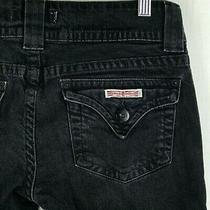 Hudson Classic Flap Pocket Boot Cut Jeans Size 27 Photo