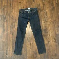 Hudson Collin Dark Denim Skinny Jeans Sz 30 Nwot Photo