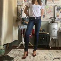 Hudson Collin Flap Pockets Skinny Jeans Size 27 Women's Photo