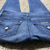 Hudson Collin Flap Skinny Crop Designer Jeans Womens Size 27 Photo