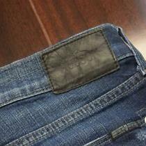 Hudson Cotton Tencel Stretch Straight Denim Blue Jeans Mens Size 34 X 32 Photo