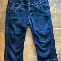 Hudson Denim Capri Cropped Jeans Size 26 Photo