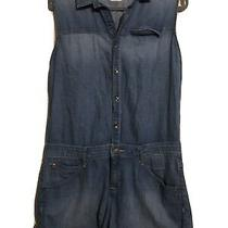 Hudson Denim Short Harmony  Romper Size Medium Photo