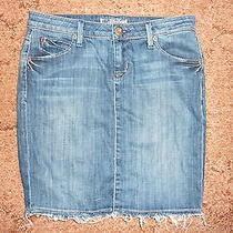 Hudson Denim Skirt Size 26 Cute Skirt Photo