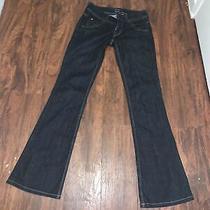 Hudson Denim Trouser Flare Womens Dark Wash Blue Jeans Size 26 X 31 Photo