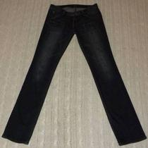Hudson Flap Pocket Bet Wash Skinny Leg Jeans K744 -- Size 27 X 33  Usa Made Photo