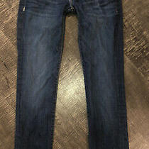 Hudson Ginny Crop Straight With Cuff Sz 25 Photo
