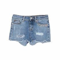 Hudson Girls Blue Denim Shorts 10 Photo