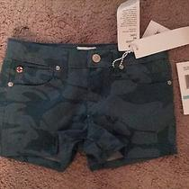 Hudson Girls Camo Shorts Sz 5 Denim Shorts  New Photo