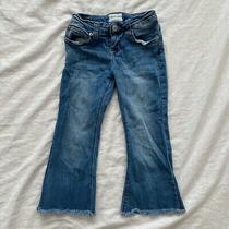 Hudson Girls Cut Off Capri Flare Jeans Size 8 Youth Photo