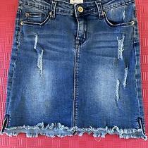 Hudson Girls Denim Skirt Size 14 Photo