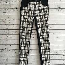 Hudson Girls Jeans Pants Cong Yuan Stretch Slim Skinny Black White Size 16 Photo