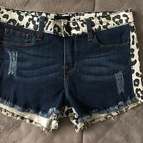 Hudson Girls Shorts Animal Print Denim Size 16 Photo