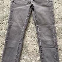Hudson Gray  Skinny Jeans Girls Sz 7 Adjustable Waist Photo