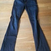 Hudson Jeans 25 Dark Blue Flare Jeans Photo
