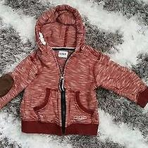 Hudson Jeans Baby Boy Girl 12 Months Hoodie Jacket Cotton Photo