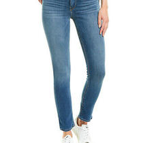 Hudson Jeans Barbara Into You High-Rise Skinny Ankle Cut Women's Blue 28 Photo