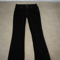 Hudson Jeans Black Velvet Euc 30 Photo