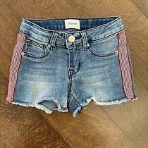 Hudson Jeans Girls Denim Cut Off Shorts Size 7 Photo