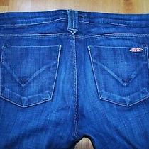 Hudson Jeans Low Rise Straight-Leg Dark Wash (28) Euc  Perfect Condition Photo