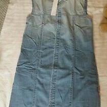 Hudson Jeans Nico Barbara Denim Dress Brand New Size S Photo