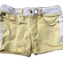 Hudson Jeans Shorts Yellow Girls Size 5 Read Photo