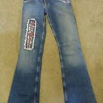 Hudson Jeans Size 24 Unique or Rare Made in Usa Hudson Flare Juniors Jeans Photo