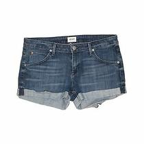 Hudson Jeans Women Blue Denim Shorts 28w Photo