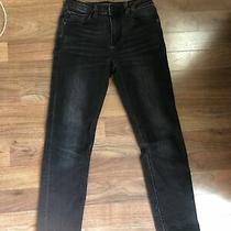 Hudson Jeans Womens Sz 12 Black Fade Skinny Photo