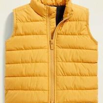 Hudson Kids' Baby Boy Poly Puffer Vest Yellow 24m Photo