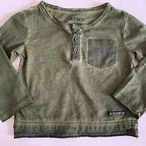Hudson Kids Baby Boys & Long Sleeve Shirt 18m Green Photo