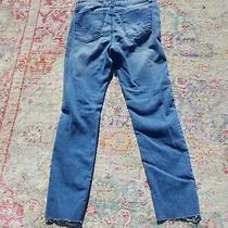 Hudson Kids Girls Jeams Distressed Skinny Cuffs Size 14 Photo