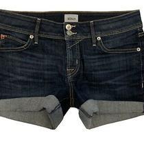 Hudson Low Rise Denim Jeans Shorts 28 Excellent Preowned Photo