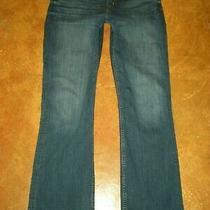 Hudson Mid Rise Signature Boot Dark Wash Denim Jean's Women's Size 31 X 34.5 Photo