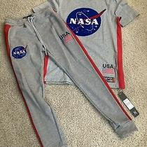 Hudson Nasa Jogger Pants With Matching Shirt Size (S) Photo