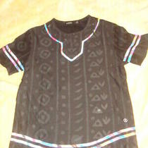 Hudson Nyc Outerwear Men's Tribal Print T Shirt Size Large Photo