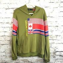 Hudson Outerwear Mens Size Large Olive Sweatshirt Photo