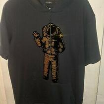 Hudson Outerwear Spaceman Short Sleeve Hoodie Size Large  Photo