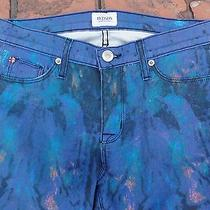 Hudson Paint Spatter  Skinny Jeans 26 Photo