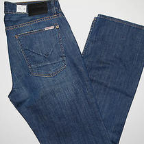 Hudson Relax Straight Men's Jeans Style Name Wilder Size 32x34 Msrp 220.00 Photo