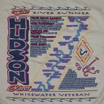 Hudson River Beaverbrook Outfitters Whitewater Veteran T-Shirt L -  New Photo